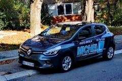 Renault Clio, Auto Škola MICHELL, Beograd, Banovo brdo, Stevana Brakusa 6